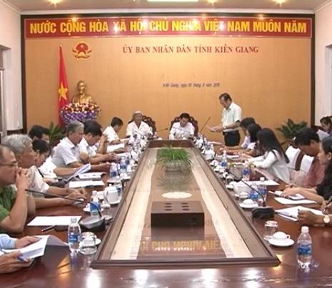 Họp BTC lễ hội truyền thống AHDT Nguyễn Trung Trực