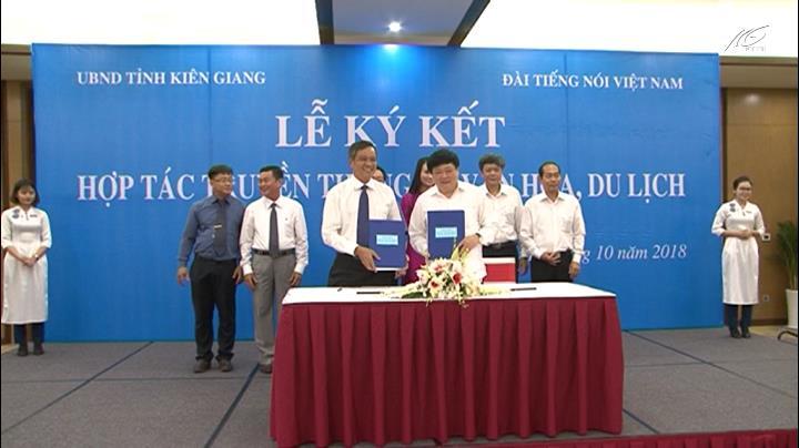 Kiên Giang ký kết hợp tác truyền thông