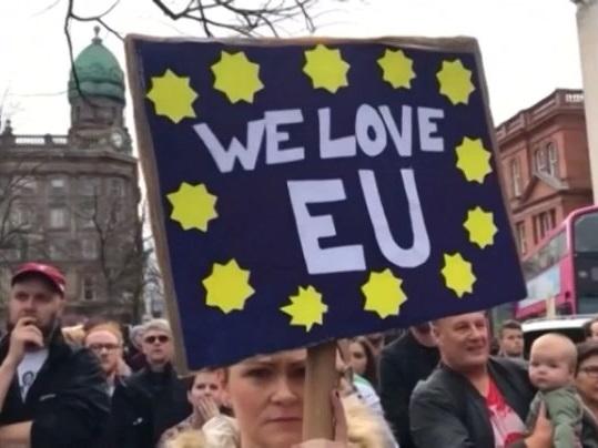 Biểu tình phản đối Brexit ở Anh