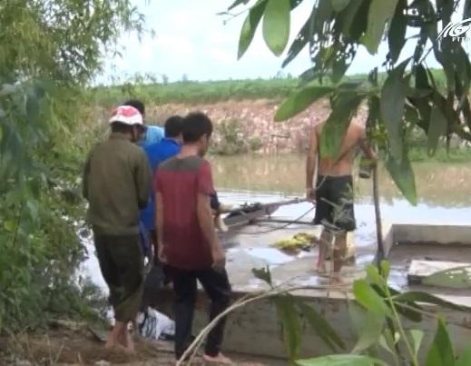 Giang Thành: Một em học sinh bị chết đuối