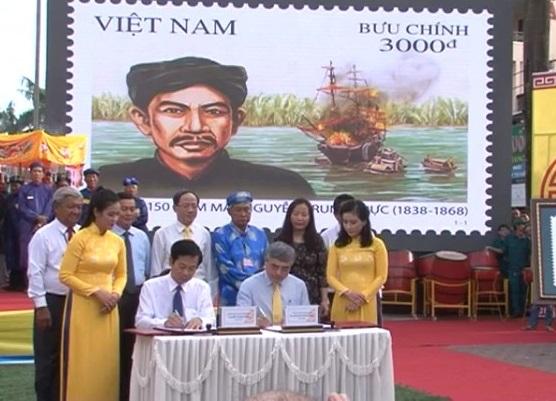 Lễ dâng hương AHDT Nguyễn Trung Trực