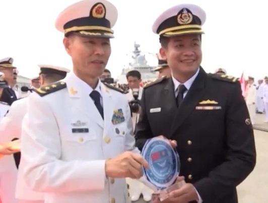 ASEAN, Trung Quốc kết thúc tập trận chung
