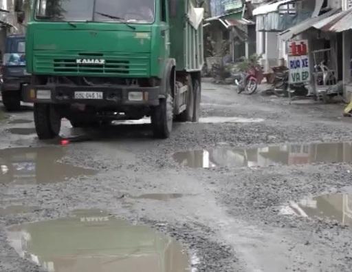 Cần khắc phục tuyến đường TT Hòn Đất - Thổ Sơn