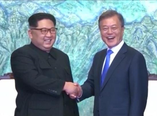 Hai miền Triều Tiên ngừng hành động thù địch