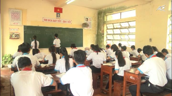 Tình trạng bỏ học ở huyện Giồng Riềng