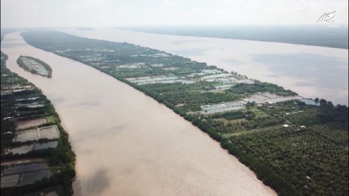 ĐBSCL bắt đầu trữ nước ngọt cho mùa khô
