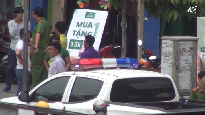 Ngân hàng Việt Á bị cướp khoảng 1 tỷ đồng