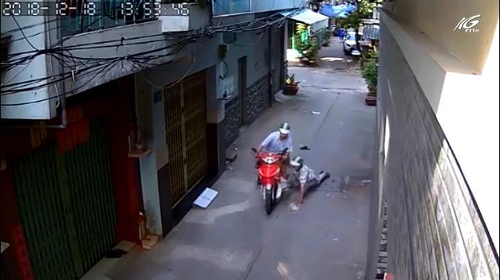 Bắt nghi phạm cướp xe ôm
