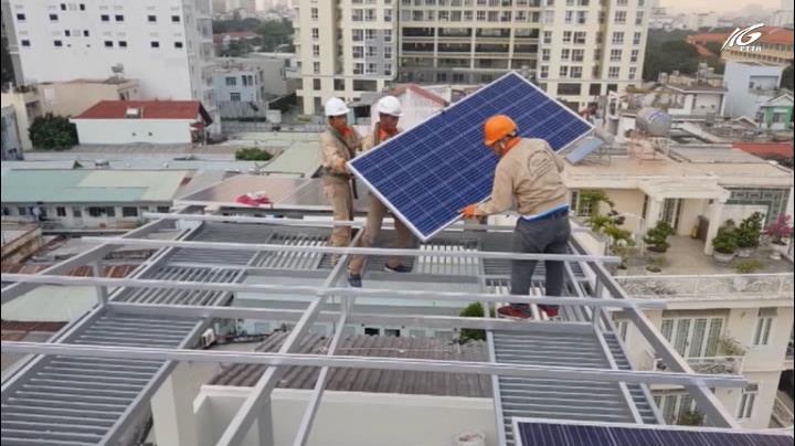 Dùng điện mặt trời, có dư để bán
