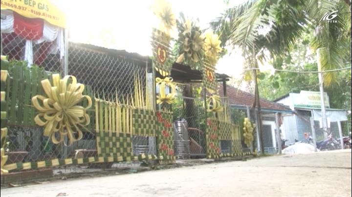 Sống lại những chiếc cổng cưới truyền thống