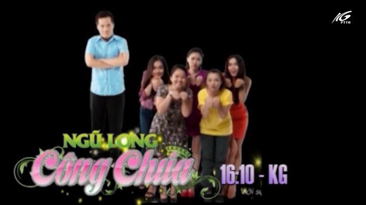 16h10 kênh KG: Ngũ long công chúa