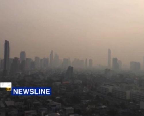 Bangkok không khí ô nhiễm nặng