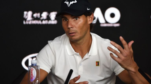 Nadal: 'Tôi chơi không tốt không phải vì sợ hãi'