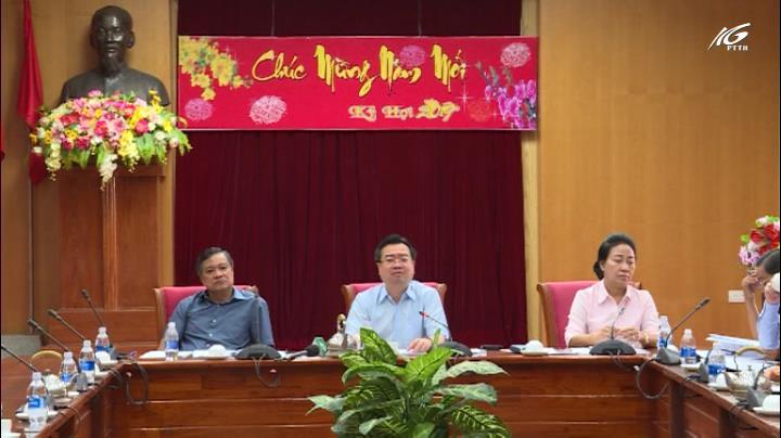 Ban Thường vụ tỉnh ủy họp ngay sau Tết