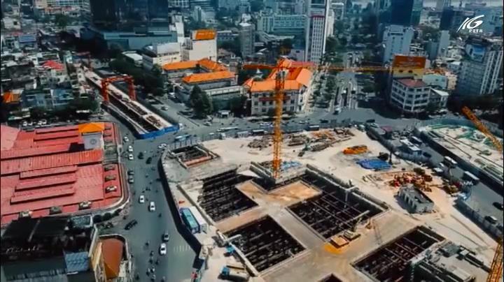 Metro Bến Thành – Suối Tiên đang đến gần