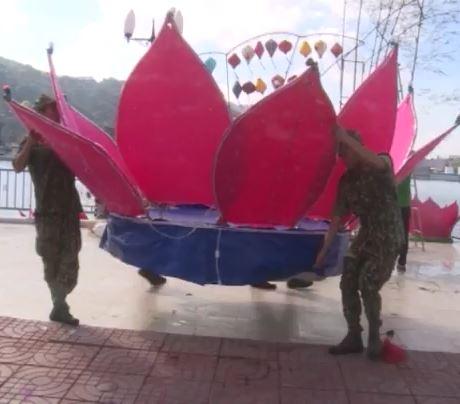 Hà Tiên chuẩn bị hội hoa đăng quy mô