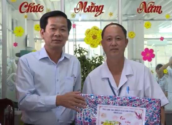 Phó chủ tịch tỉnh thăm BVĐK Kiên Giang
