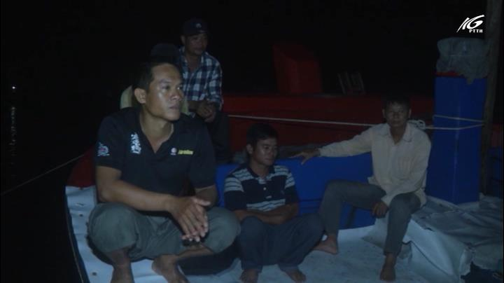 5 ngư dân bị chìm tàu ở Hoàng Sa đã về
