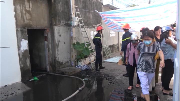Cháy nhà ở Phan Thiết, một người chết