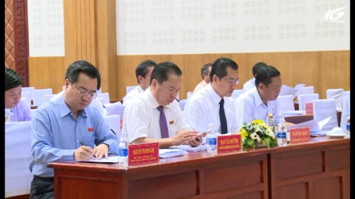 Kỳ họp thứ 12 HĐND tỉnh Kiên Giang