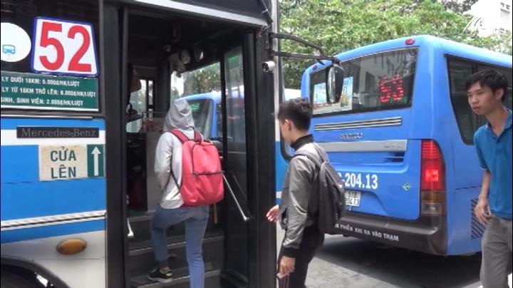 TP.HCM tăng giá vé xe buýt từ ngày 1/5