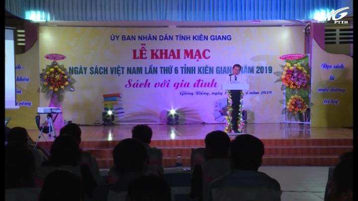 Kiên Giang: Khai mạc Ngày sách Việt Nam