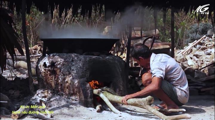 Nghề nấu đường Thốt nốt