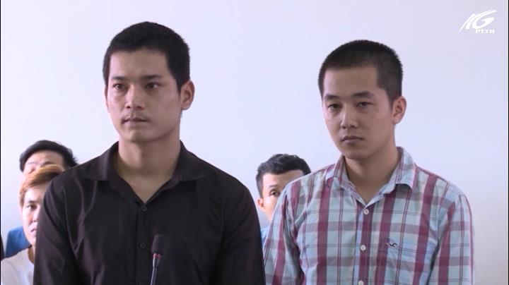 Sinh nhật bằng ma tuý, 2 bị cáo lãnh gần 5 năm tù