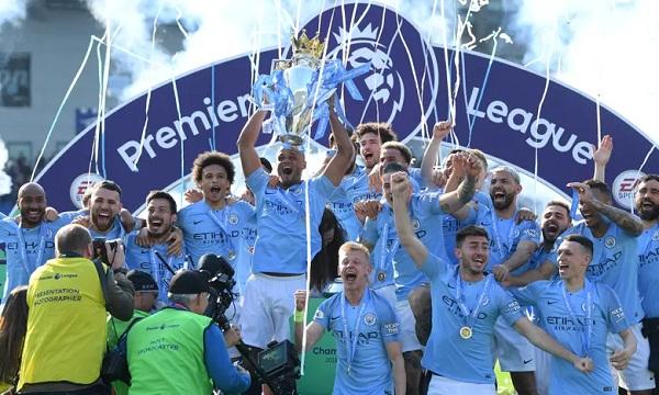 Man City lần thứ hai liên tiếp vô địch Ngoại hạng Anh