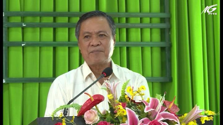 Chủ tịch UBND tỉnh – Phạm Vũ Hồng tiếp xúc cử tri