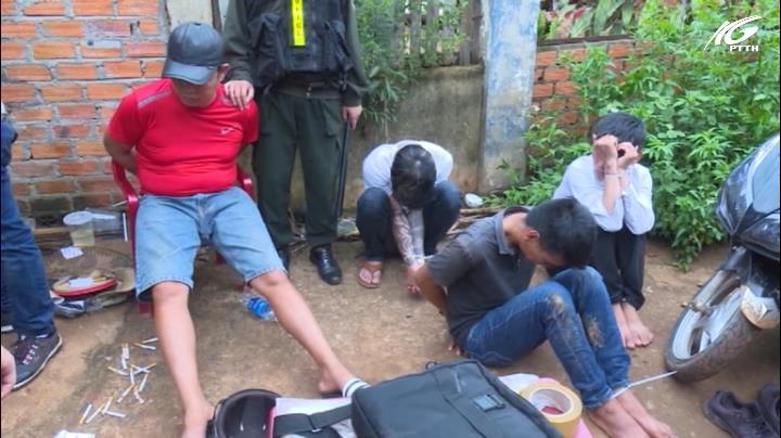Triệt phá 5 tụ điểm ma túy ở Buôn Ma Thuột