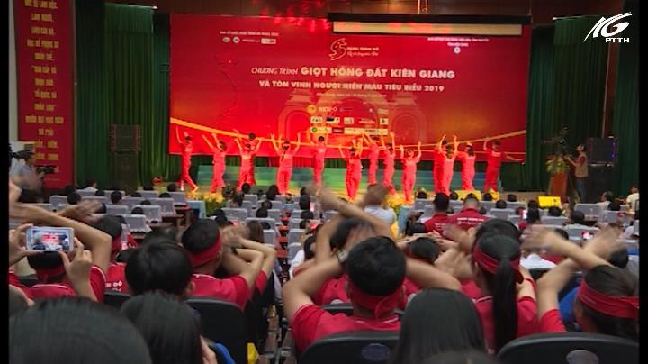 Chương trình gala giọt hồng đất Kiên Giang 2019