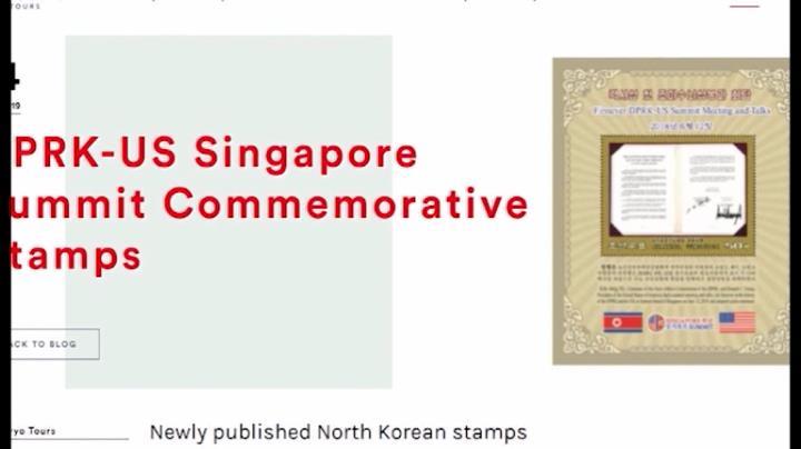 Phát hành tem kỷ niệm 1 năm Thượng đỉnh Mỹ - Triều