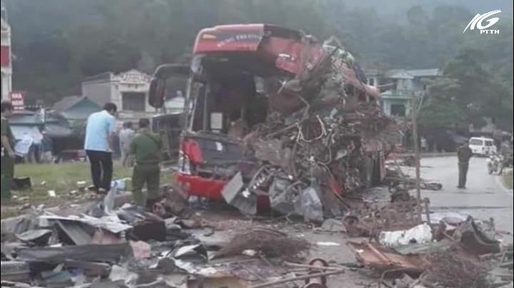 Một vụ tai nạn giao thông đặc biệt nghiêm trọng