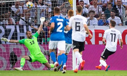 Đức thắng 8-0 ở vòng loại Euro 2020