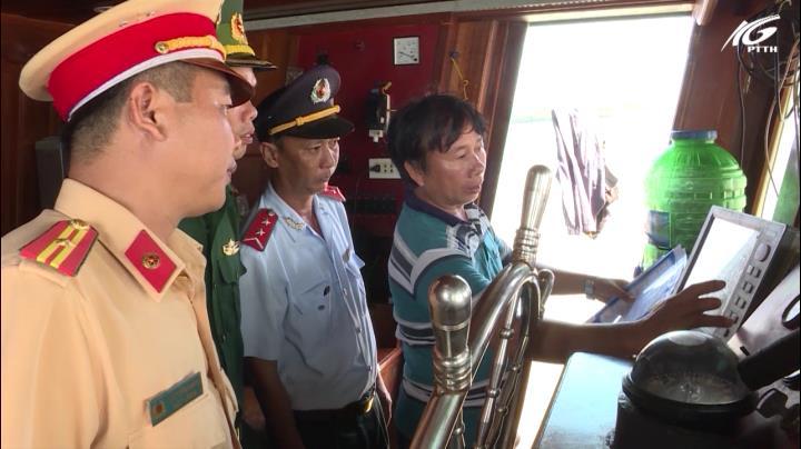 Kiên Giang tăng cường công tác tuần tra, kiểm tra và xử lý tàu cá vi phạm trên biển
