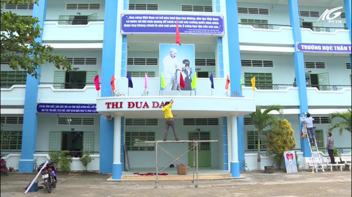 Trường THCS Chu Văn An sẵn sàng cho năm học mới