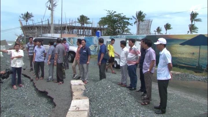 UBND tỉnh kiểm tra tình hình ngập tại Phú Quốc