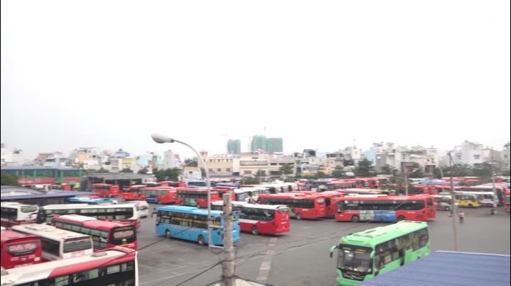 Tp. HCM: Di dời nhiều tuyến xe khách ra bến xe miền Đông mới