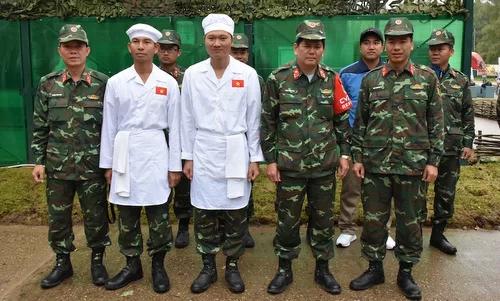 Đội Bếp Dã chiến Việt Nam vào vòng chung kết hội thao quân sự tại Nga