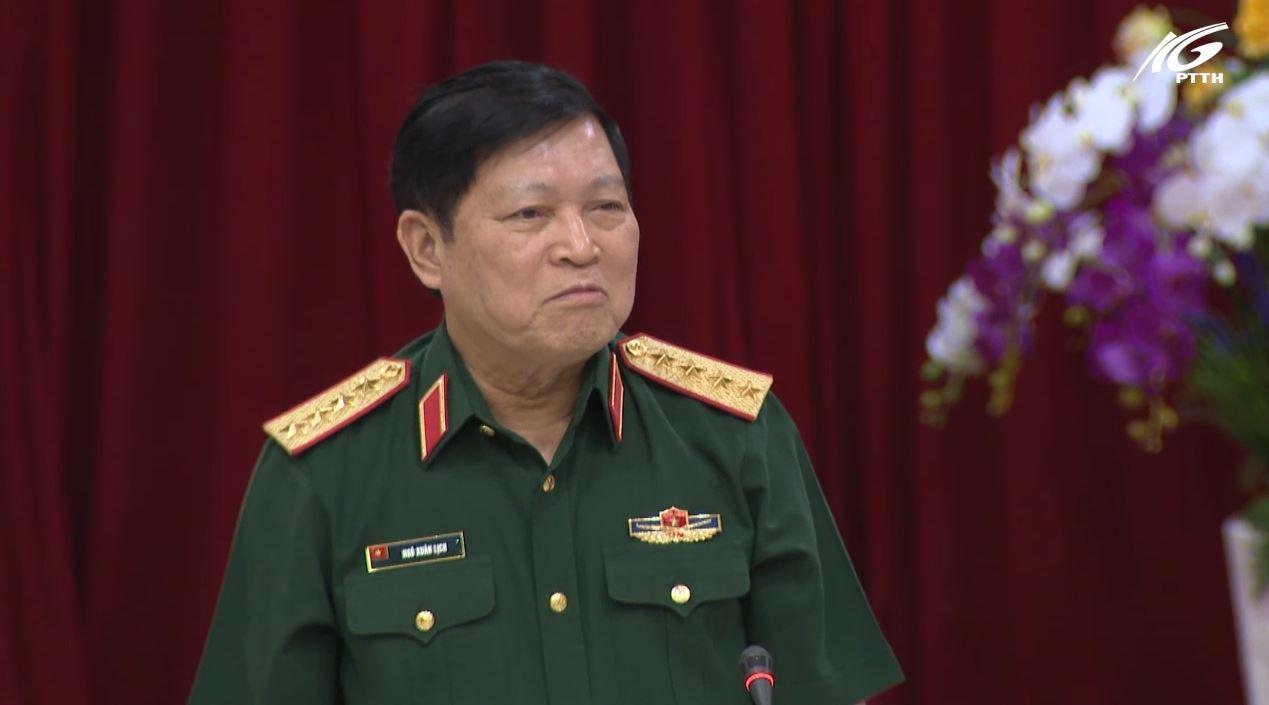 Đại tướng Ngô Xuân Lịch mong muốn Kiên Giang trở thành điểm sáng khu vực phía Nam