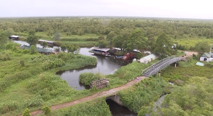 Trải nghiệm du lịch ở vườn quốc gia U Minh Thượng