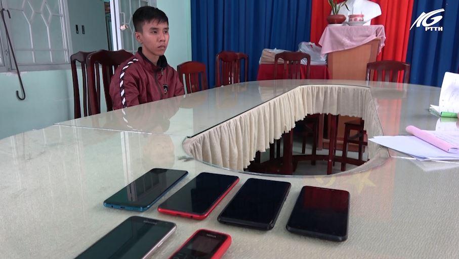 Tiền Giang: Thường xuyên vào bệnh viện trộm điện thoại