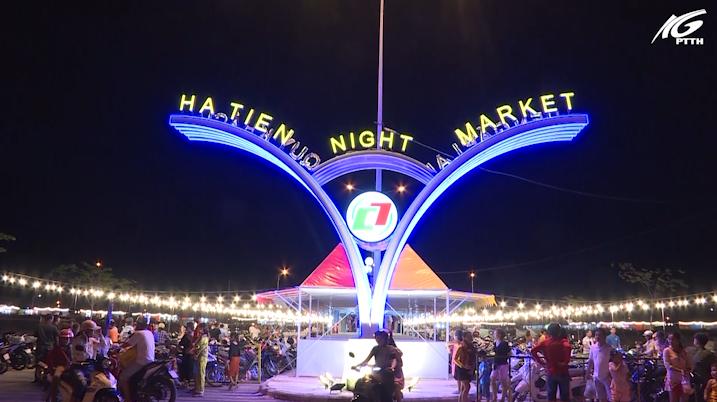 Khai trương chợ đêm Hà Tiên