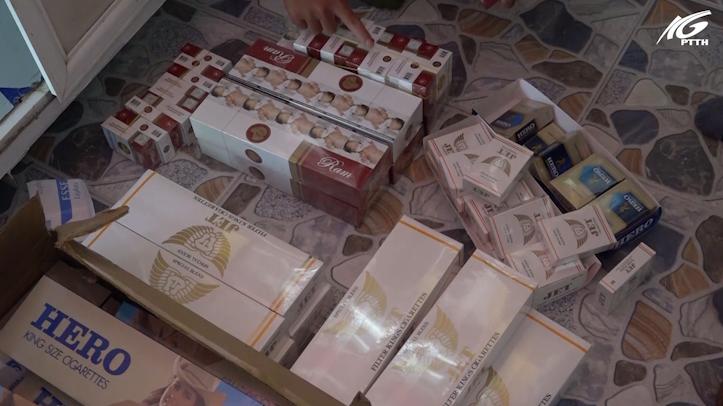 Châu Thành: Tạm giữ 380 gói thuốc lá ngoại không rõ nguồn gốc