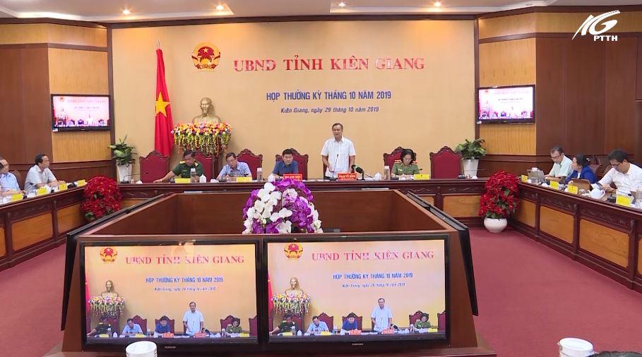 Tình hình kinh tế-xã hội tỉnh Kiên Giang tháng 10