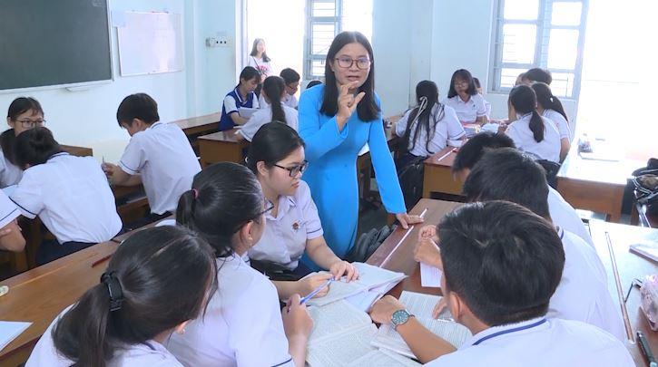 Cô giáo học và làm theo tư tưởng của Bác có nhiều sáng tạo trong giảng dạy