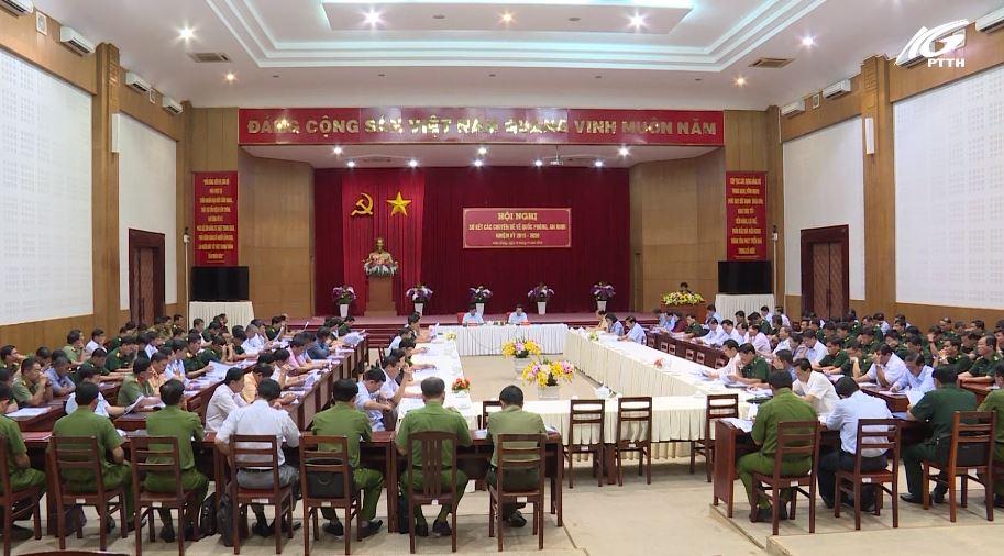 Hội nghị sơ kết các chuyên đề quốc phòng - an ninh nhiệm kỳ 2015-2020