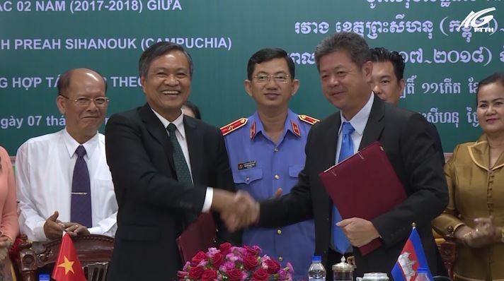 Kiên Giang và Preh Sihanouk Hợp tác - phát triển - toàn diện