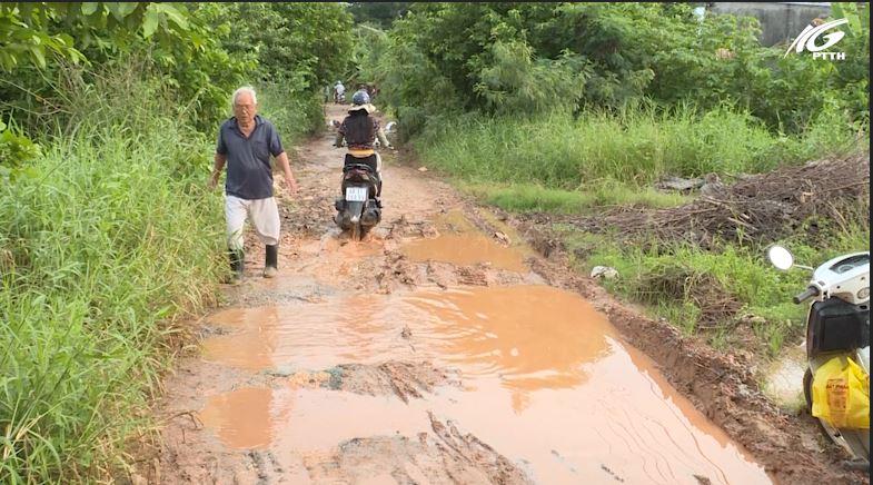 P. Vĩnh Quang-TP. Rạch Giá: Đường Võ Trường Toản xuống cấp nghiêm trọng